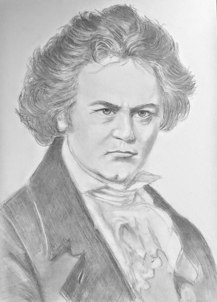 Ludwig van Beethoven by paulb